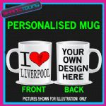 I LOVE HEART LIVERPOOL  MUG - 150892740154